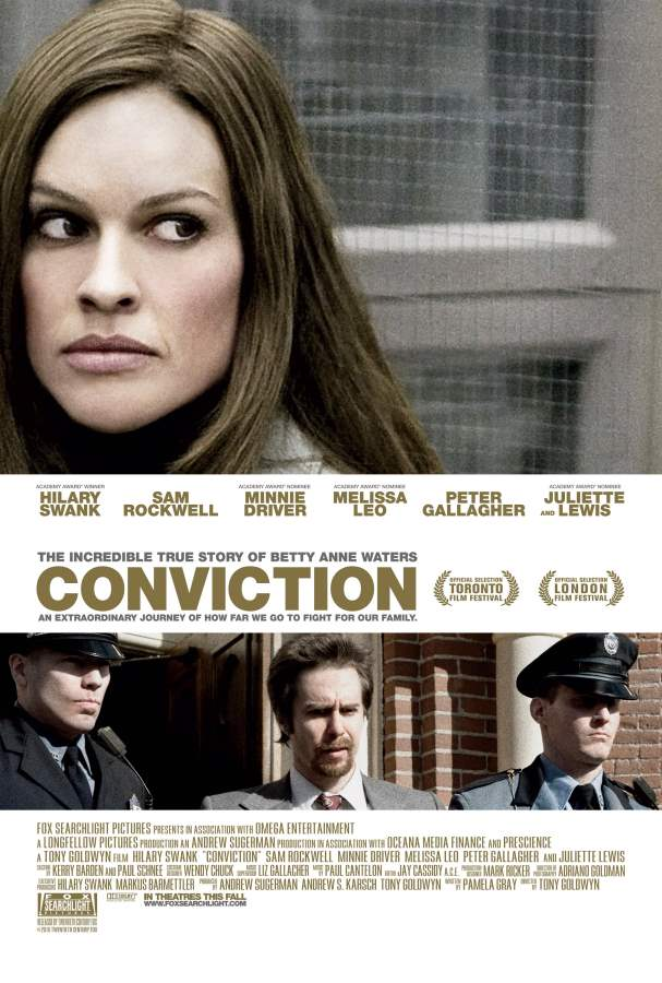 Conviction Movie Review English