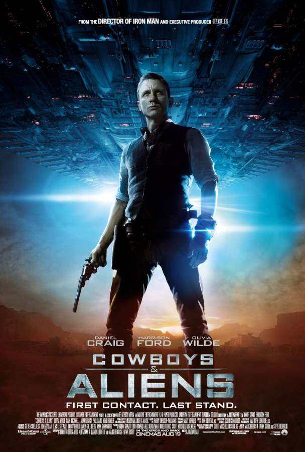 Cowboys & Aliens Movie Review English