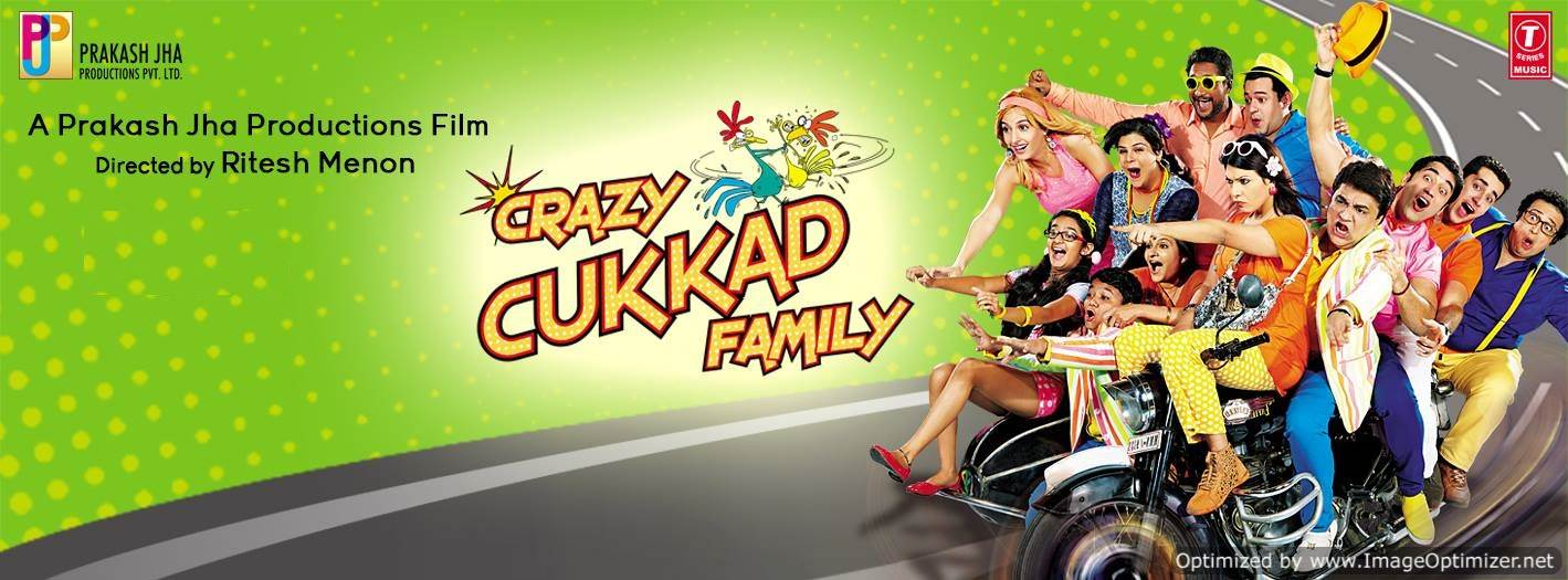 Crazy Cukkad Family  Movie Review Hindi