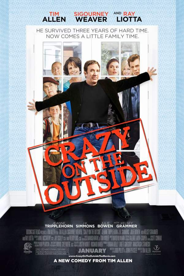 Crazy On The Outside Movie Review English