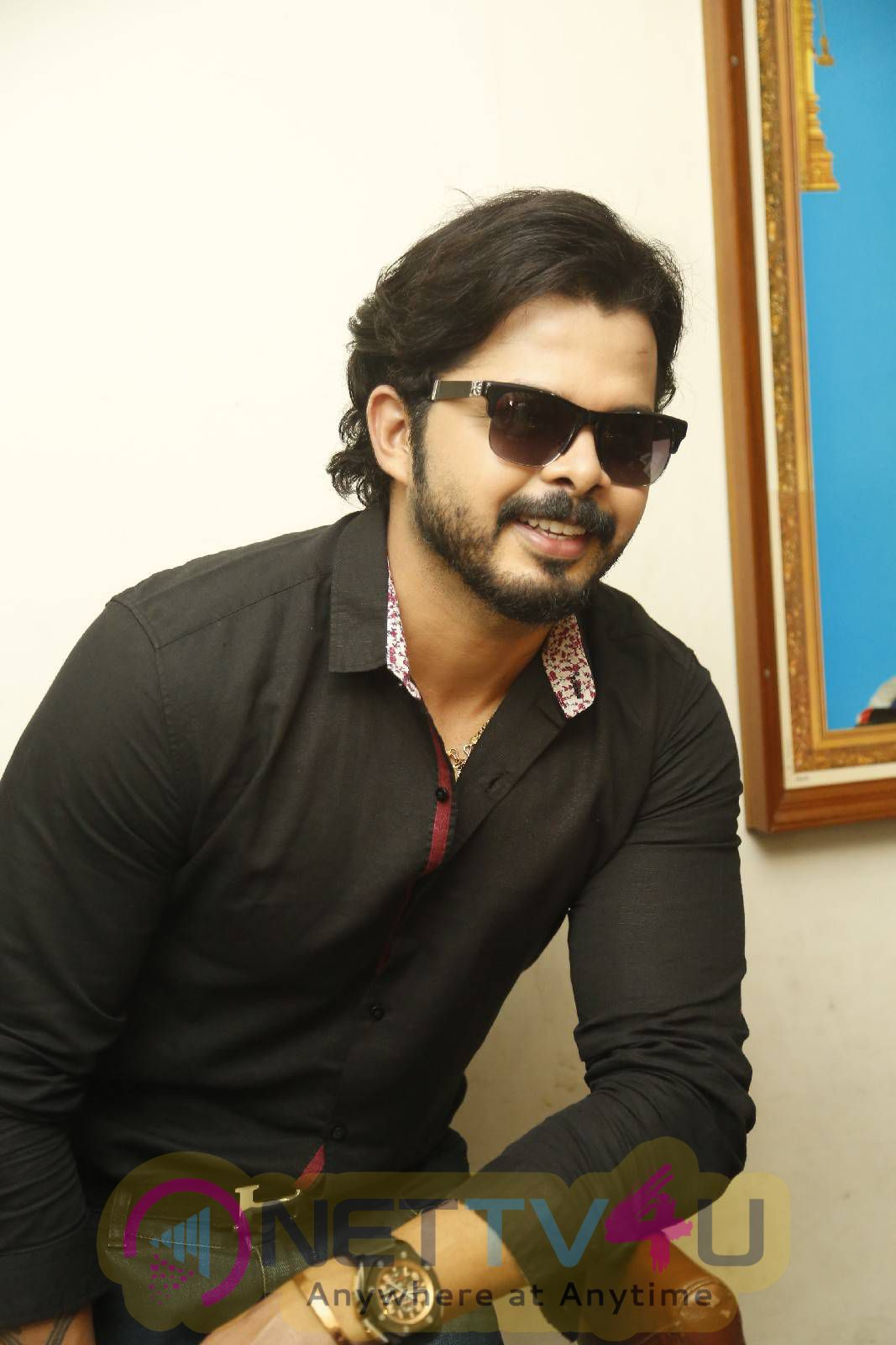Cricketer Sreesanth New Film Announcement Images