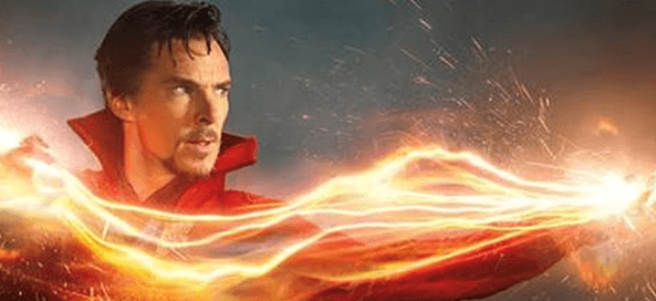 Cumberbatch As Doctor Strange!