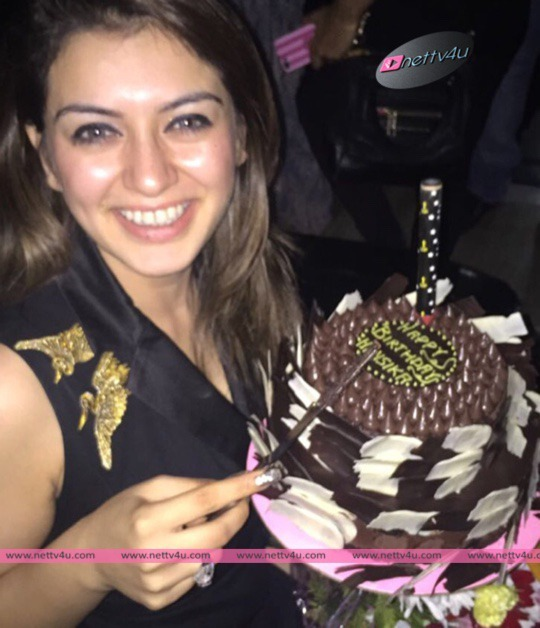 Cute Actress Hansika Motwani Birthday Photos