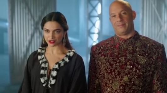 Deepika And Vin Diesel Wished Their Fans A Happy Diwali!