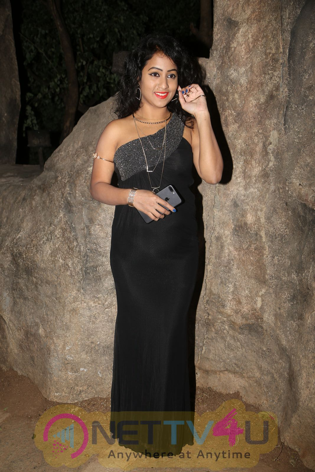 Deepu Naidu Hot Sizzling Stills At Care Of Godavari Audio Launch