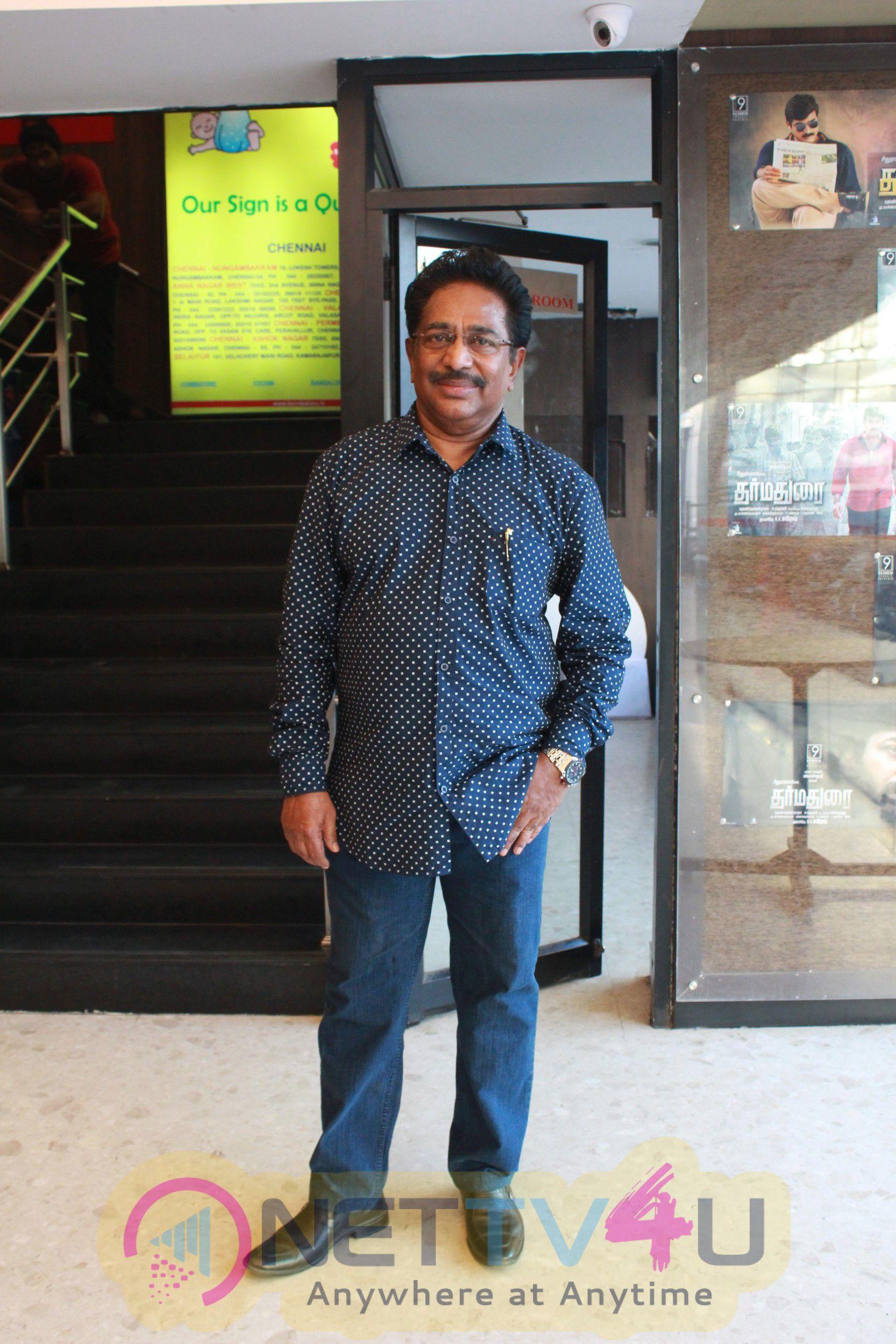 Dharma Durai Team Success Celebration At Kamala Cinemas Stills