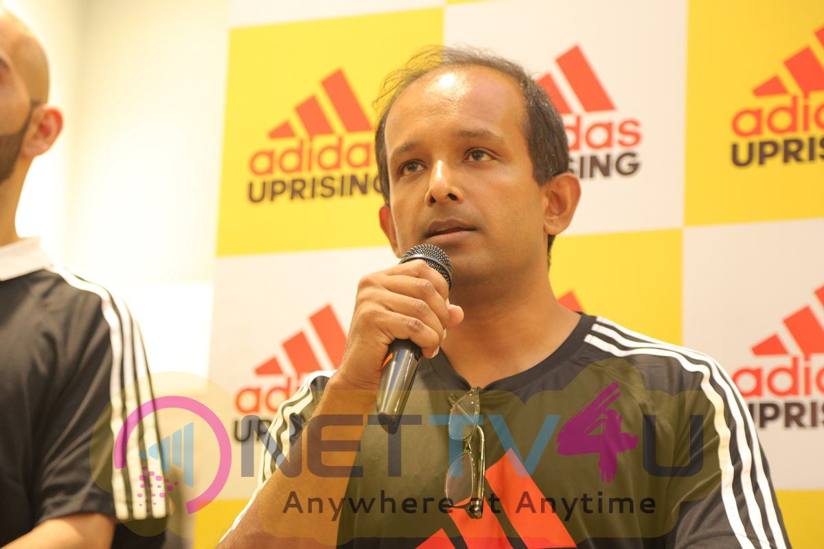 Dipika Pallikal At The Beginning Of Adidas Uprising At Phoenix Market City Photos Tamil Gallery