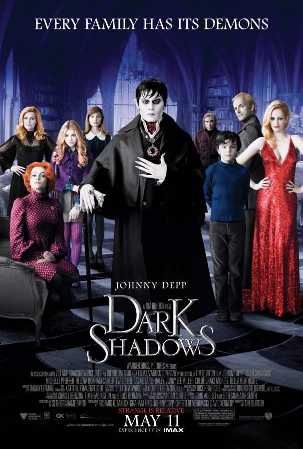 Dark Shadows Movie Review English
