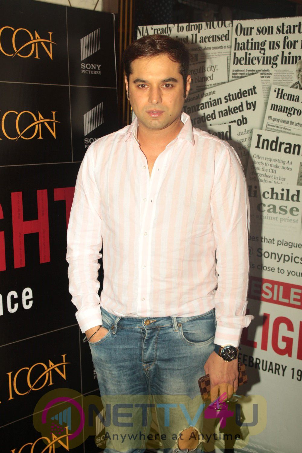 Deepak Dobriyal At Special Screening Of Hollywood Film Spotlight Stills