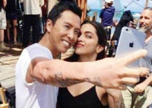 Deepika's Selfie With Donnie Yen Makes People E..