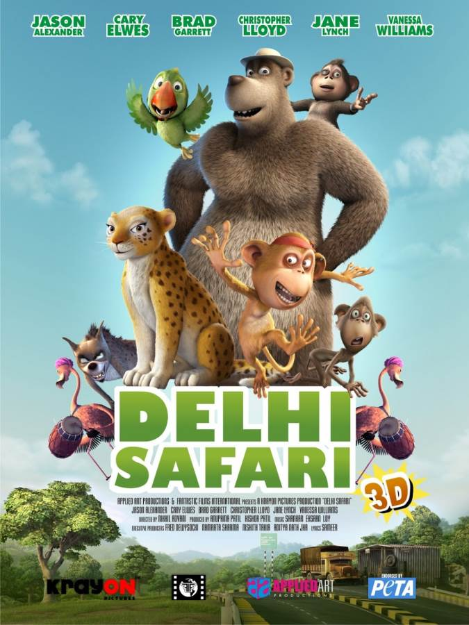 Delhi Safari Movie Review Hindi