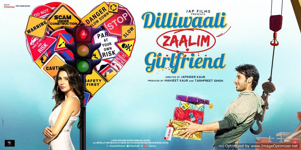 Dilliwali Zaalim Girlfriend Movie Review Hindi