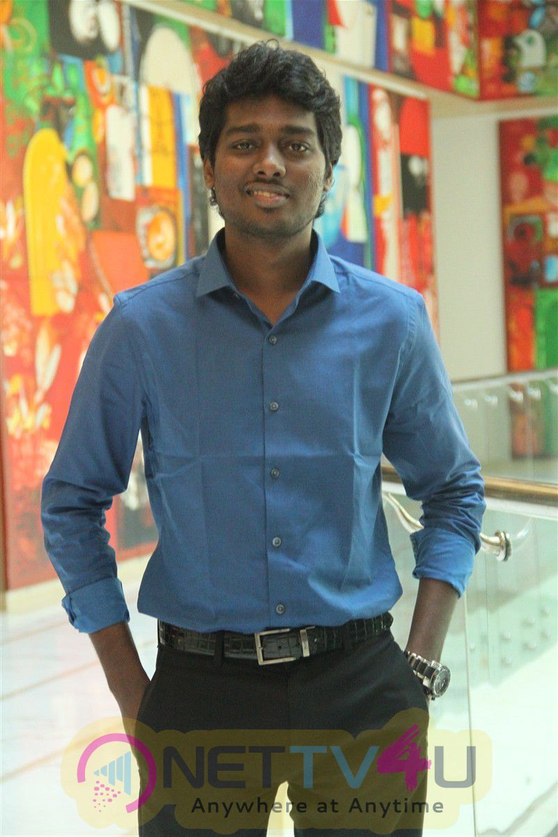 Director Atlee Kumar Press Meet Exclusive Photos