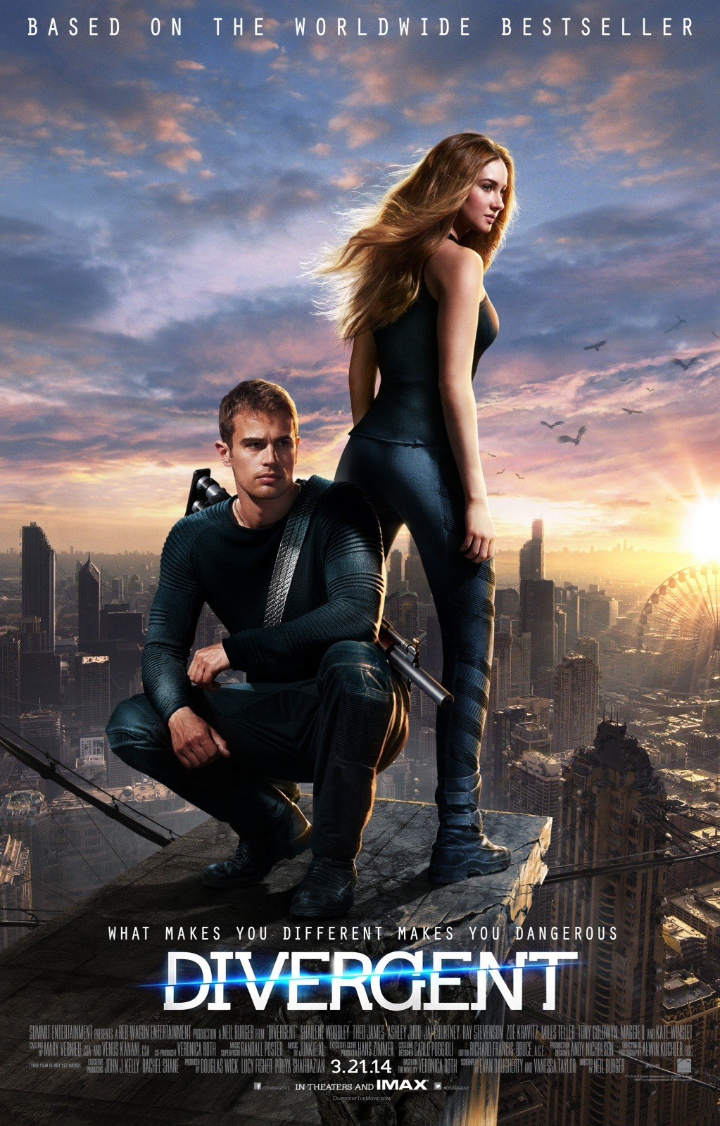 Divergent Movie Review English