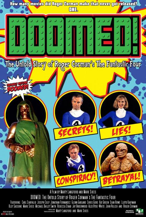 Doomed: The Untold Story of Roger Corman's the Fantastic Four Movie Review English