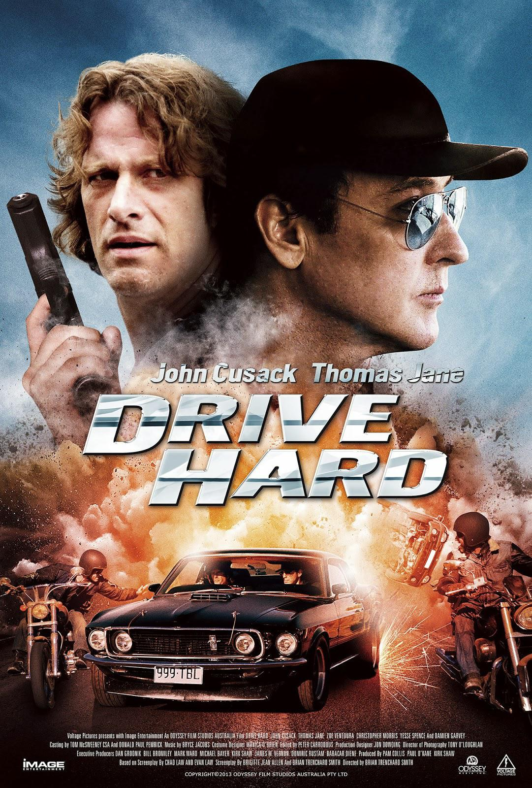 Drive Hard Movie Review English