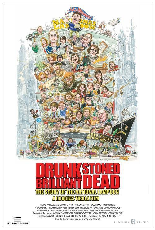 Drunk Stoned Brilliant Dead: The Story of the National Lampoon Movie Review English