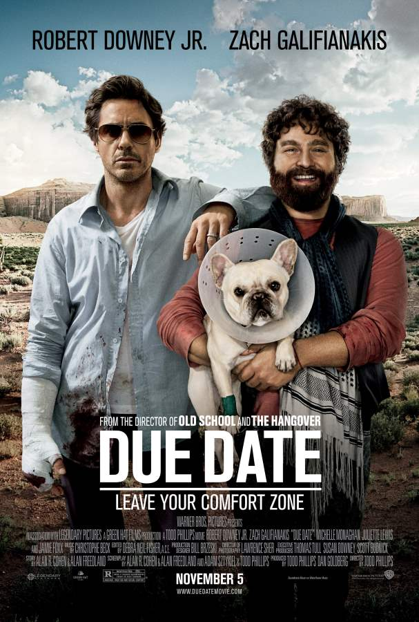 Due Date Movie Review English