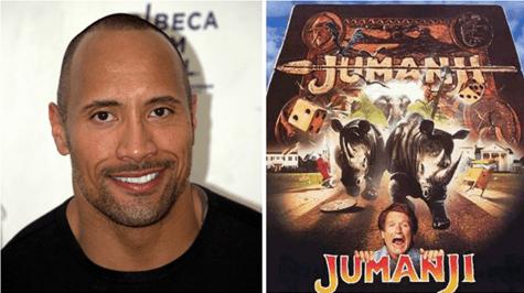 Dwayne Johnson To Star In Jumanji Sequel