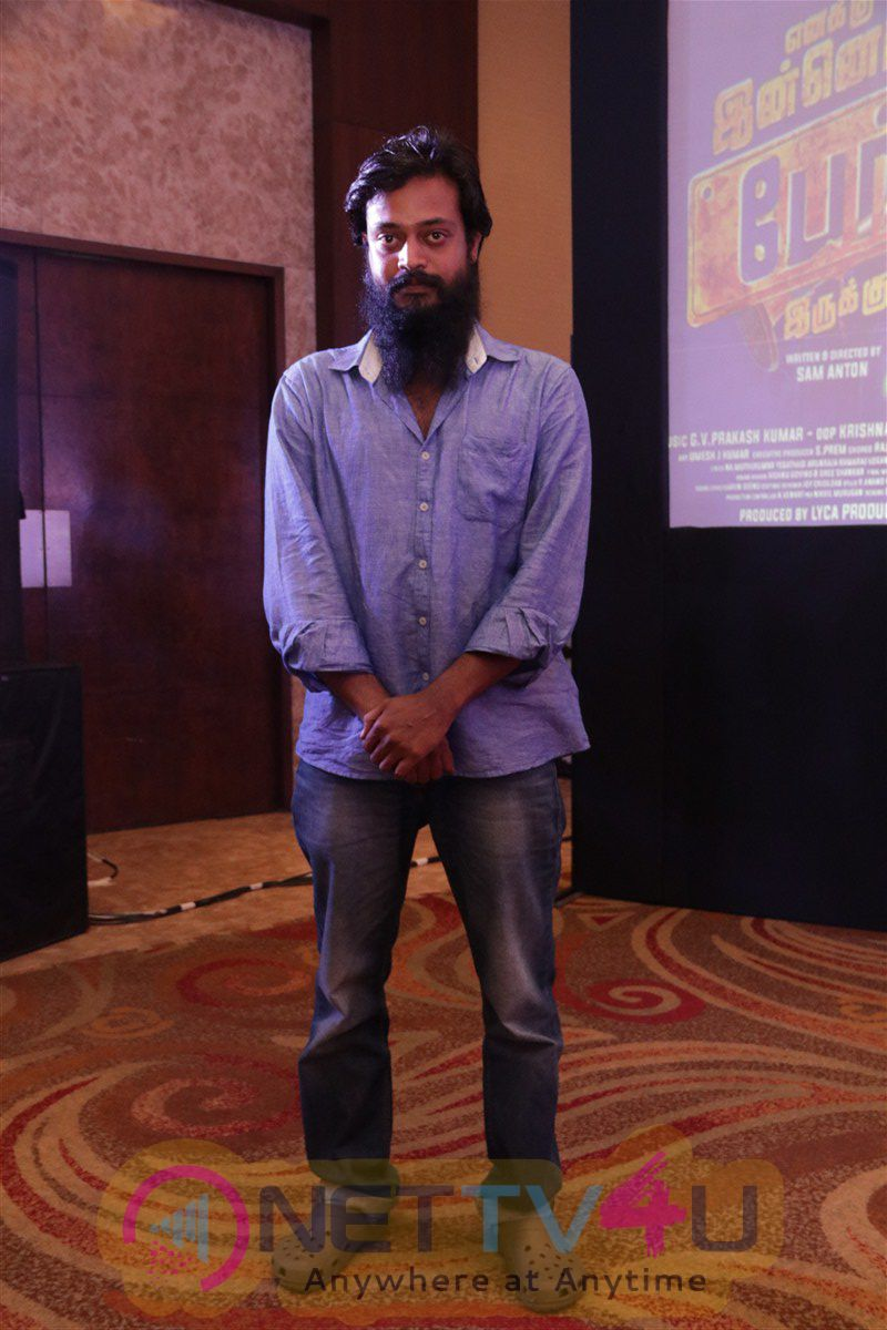 Enakku Innoru Per Irukku Tamil Movie Press Meet Stunning Photos