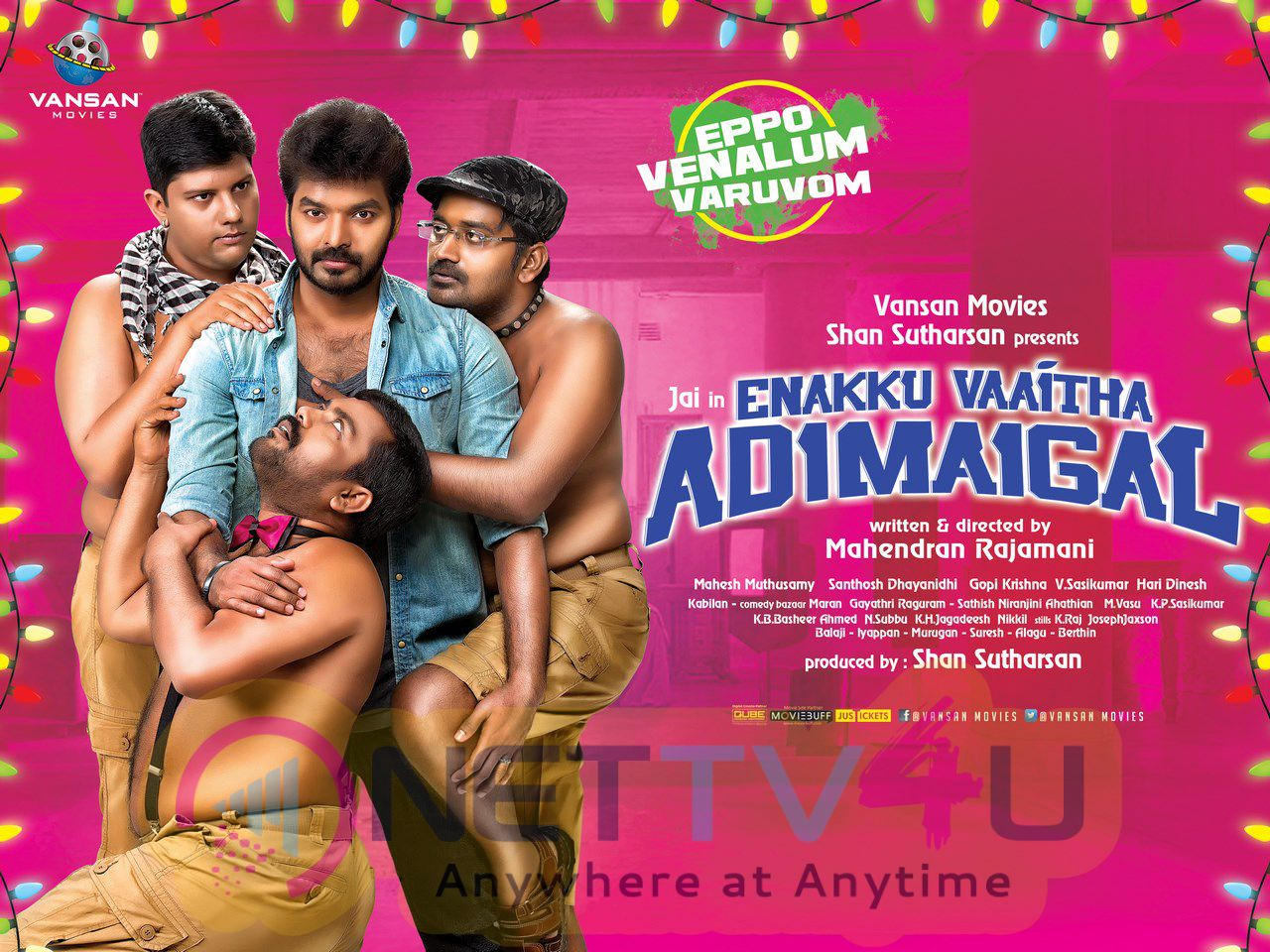 Enakku Vaitha Adimaigal Tamil Movie Good Looking Posters