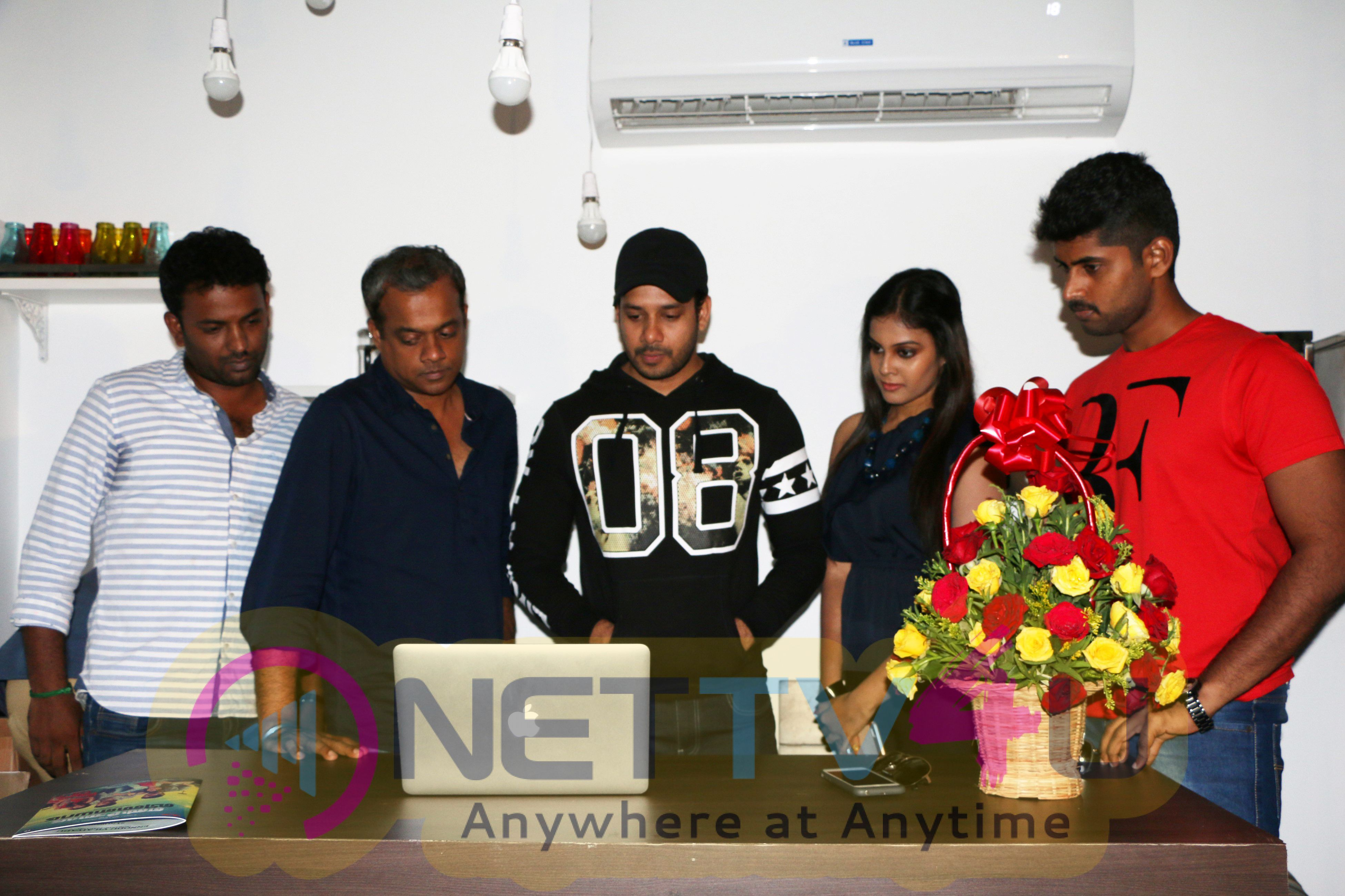 Ennodu Vilayadu Movie Motion Poster Was Launched By Director Gautham Vasudev Menon Photos