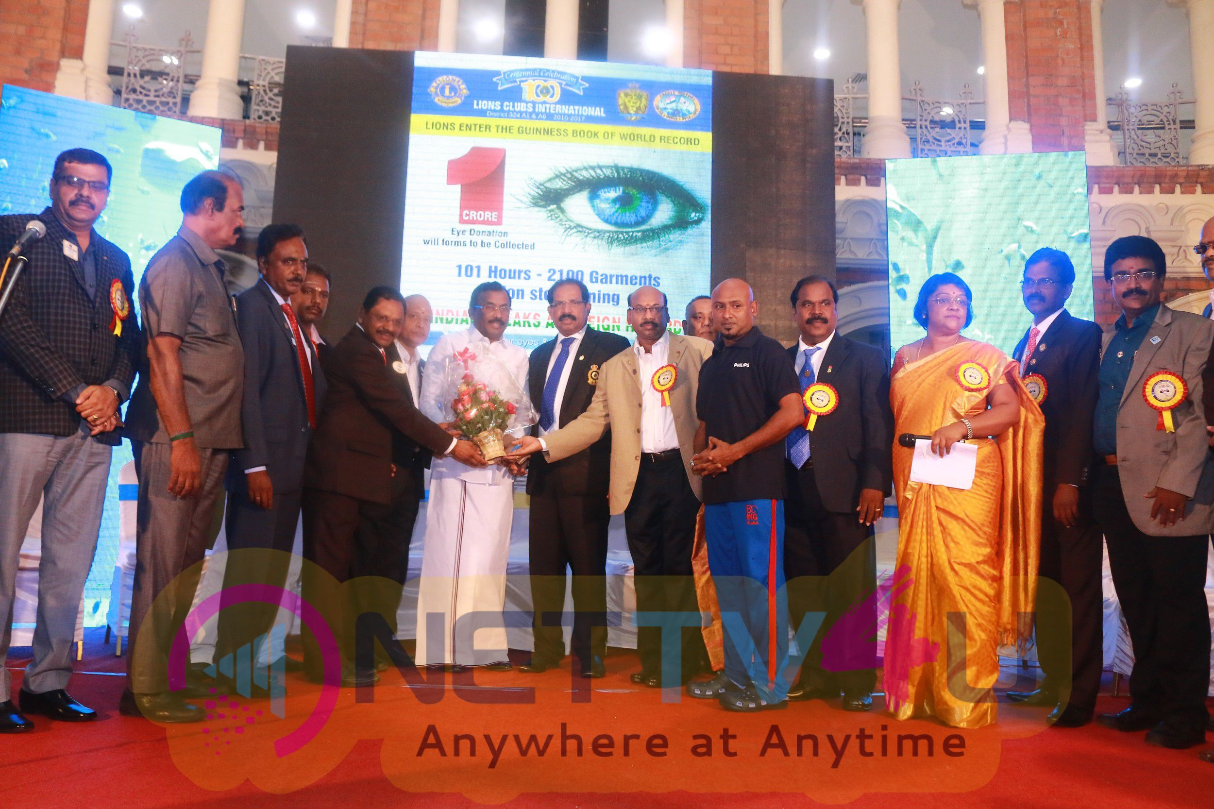 Event Stills Of Inauguration Function Of Guiness World Record Of Ironing Marathon
