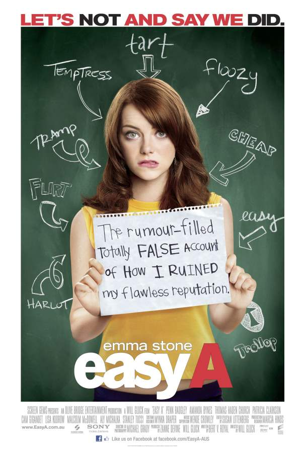 Easy A Movie Review English