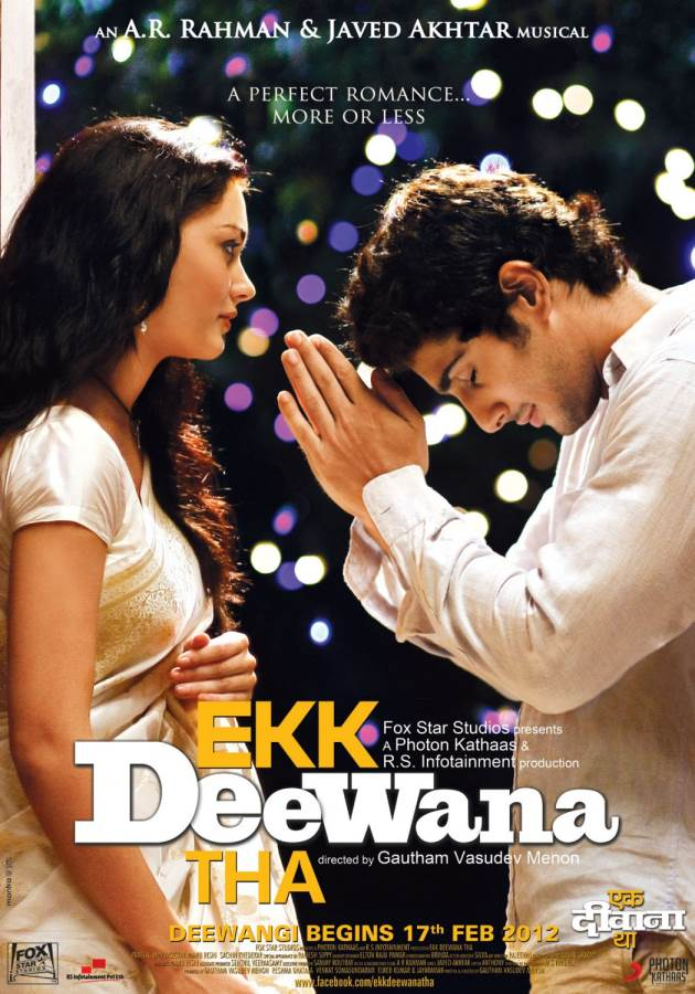 Ekk Deewana Tha Movie Review Hindi