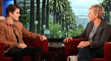 Ellen Worried About Justin Bieber Health