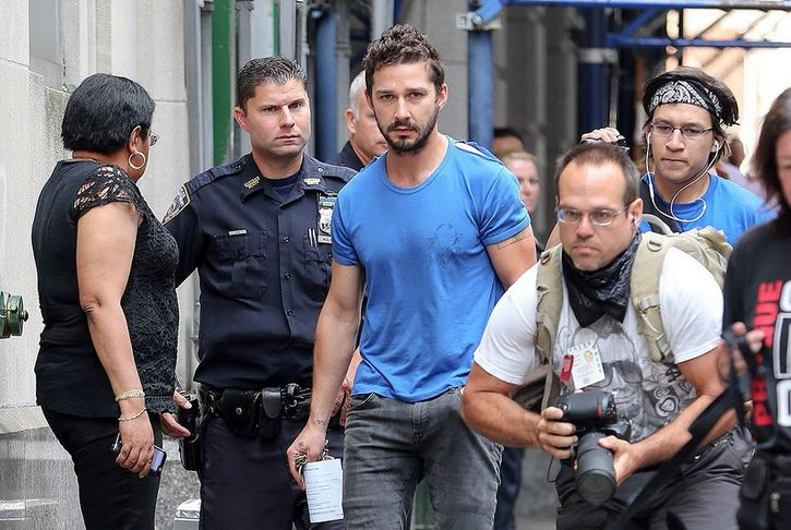 Shia LaBeouf (Even Stevens) Arrested!