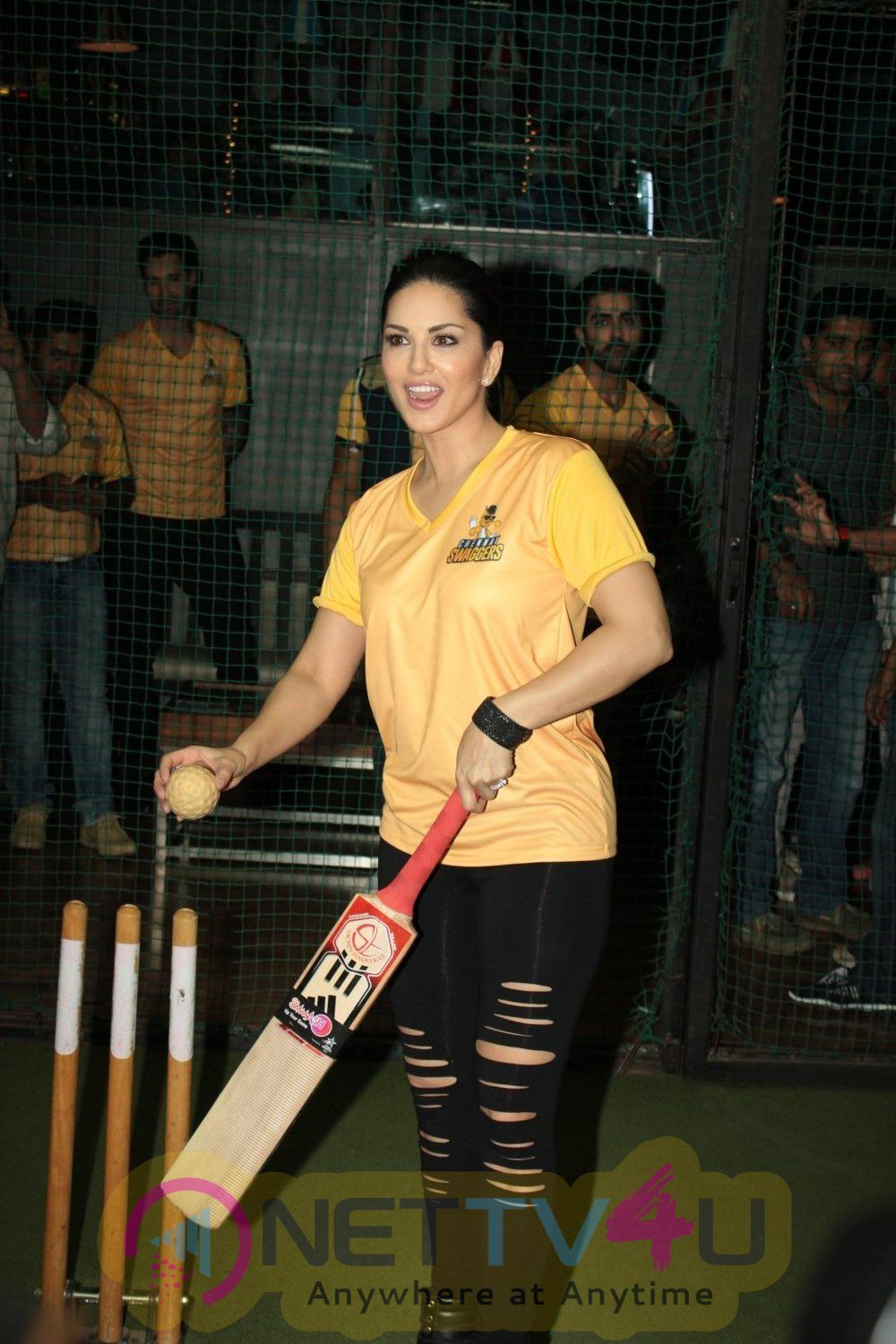 Exclusive Photos Of  Sunny Leone Unveils Bcl Team Chennai Swagger