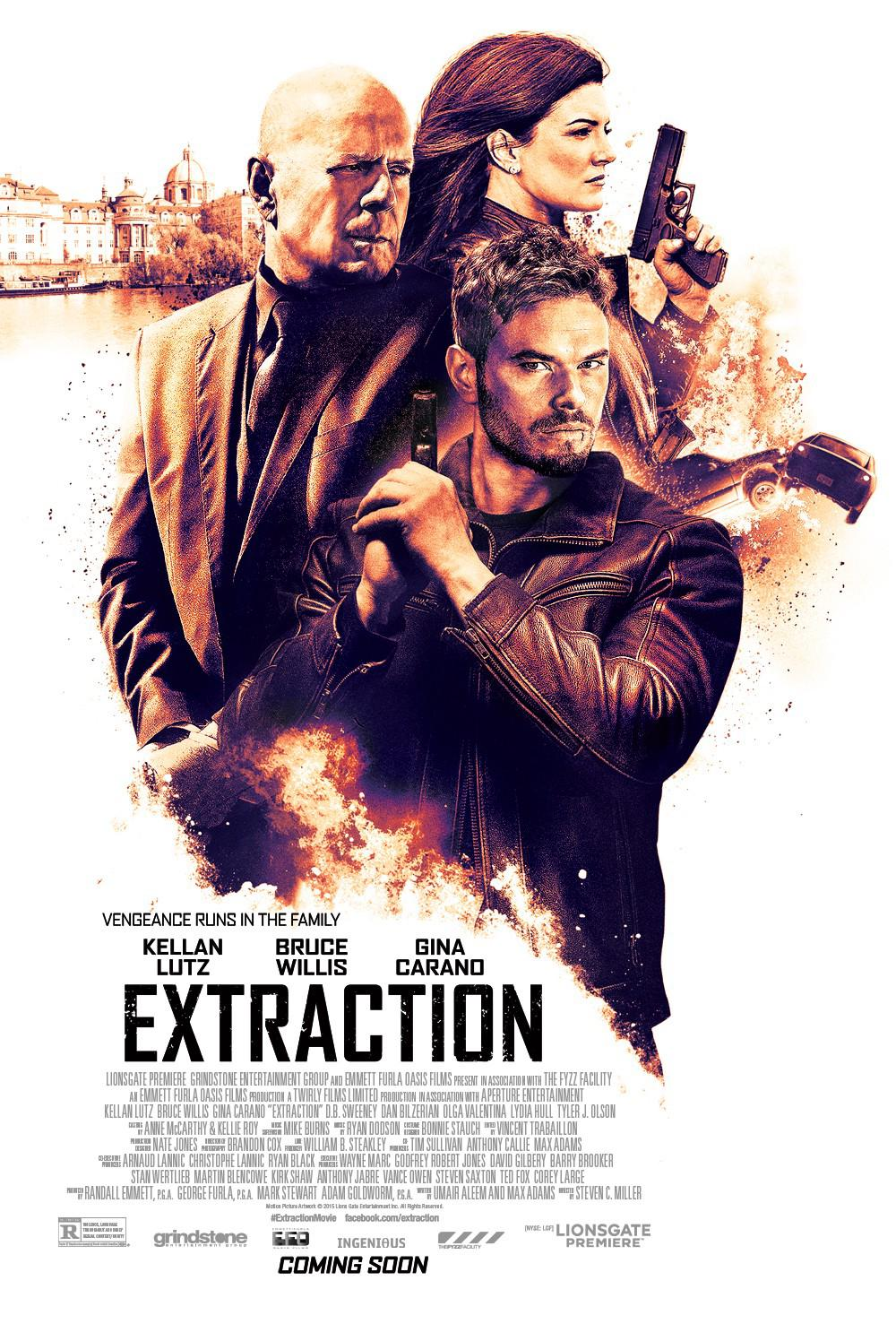 Extraction Movie Review English