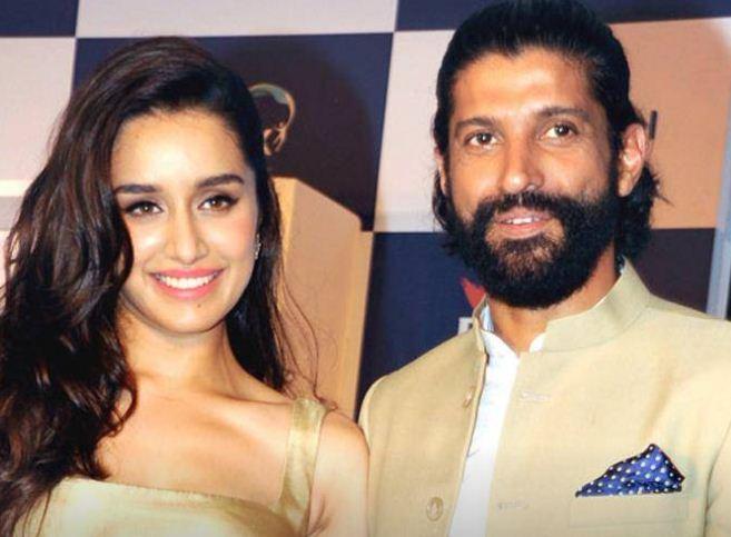 Farhan Akhtar Rumored With Shraddha Kapoor!
