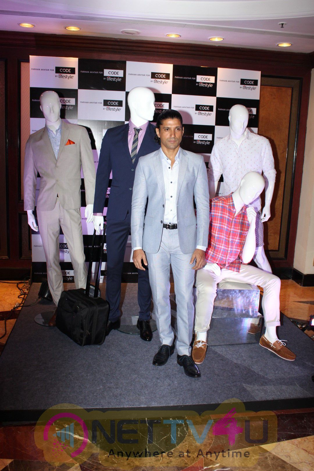 Farhan Akhtar Brand Ambassador For Code By Lifestyle Exclusive Photos