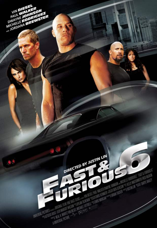 Fast & Furious 6 Movie Review English