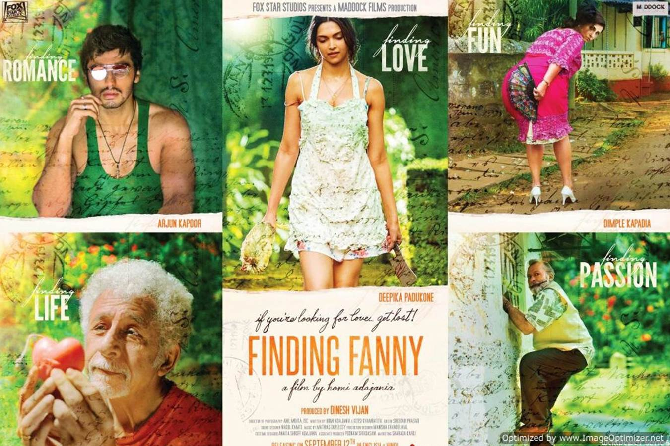 Finding Fanny Movie Review Hindi