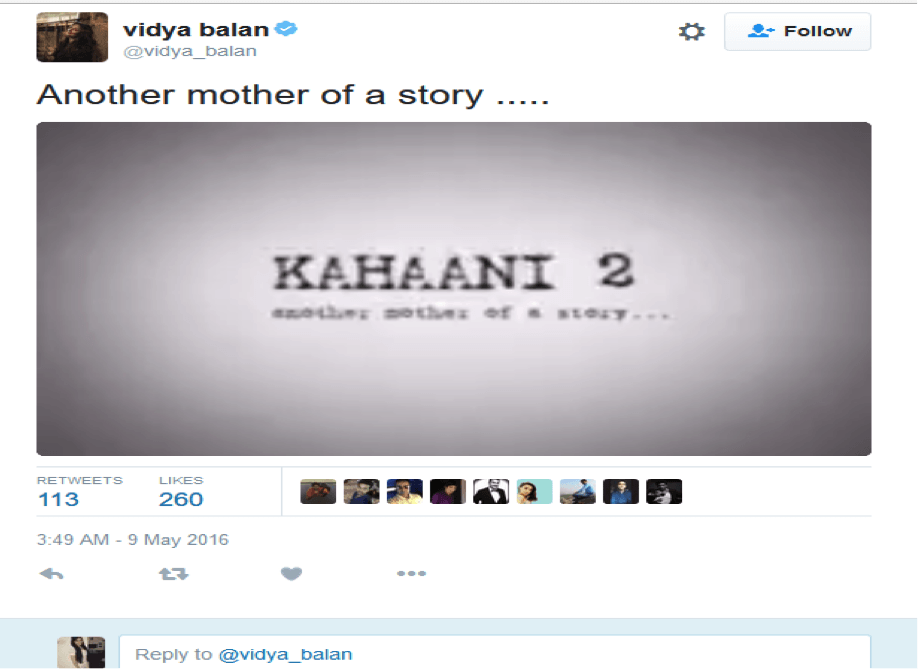First Teaser Of Kahaani-2 Released