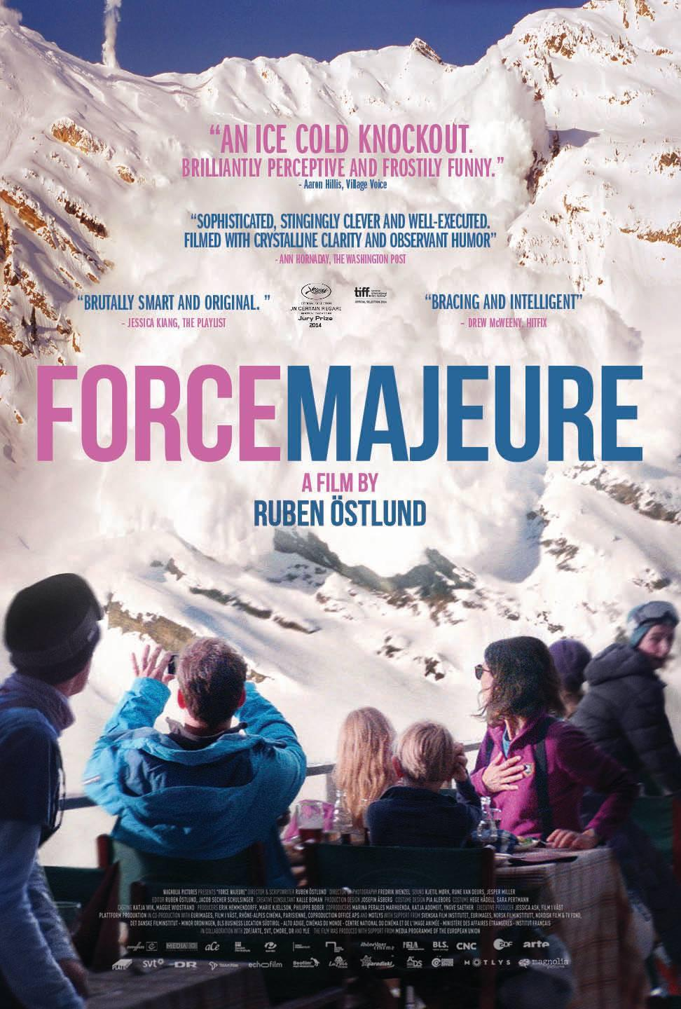 Force Majeure Movie Review English
