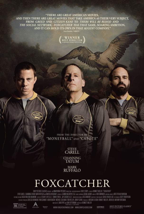 Foxcatcher Movie Review English