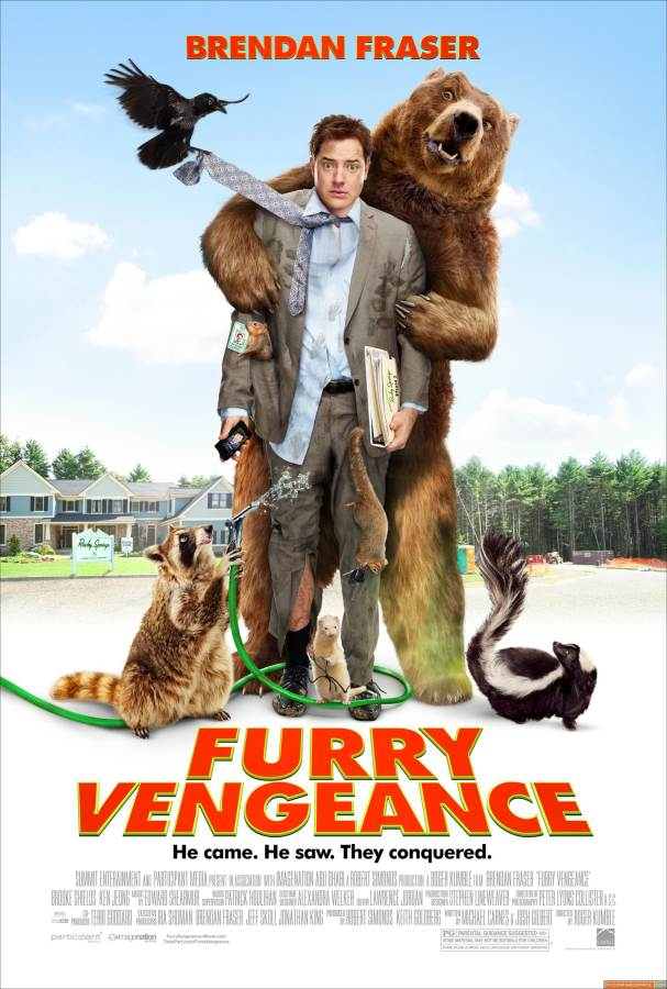 Furry Vengeance Movie Review English