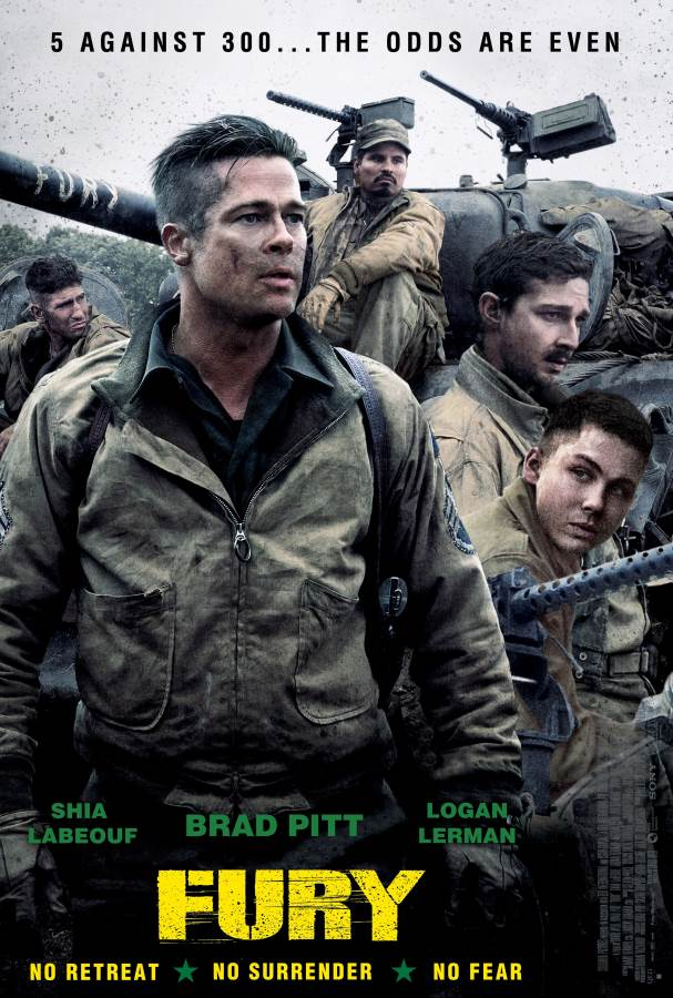 Fury Movie Review English