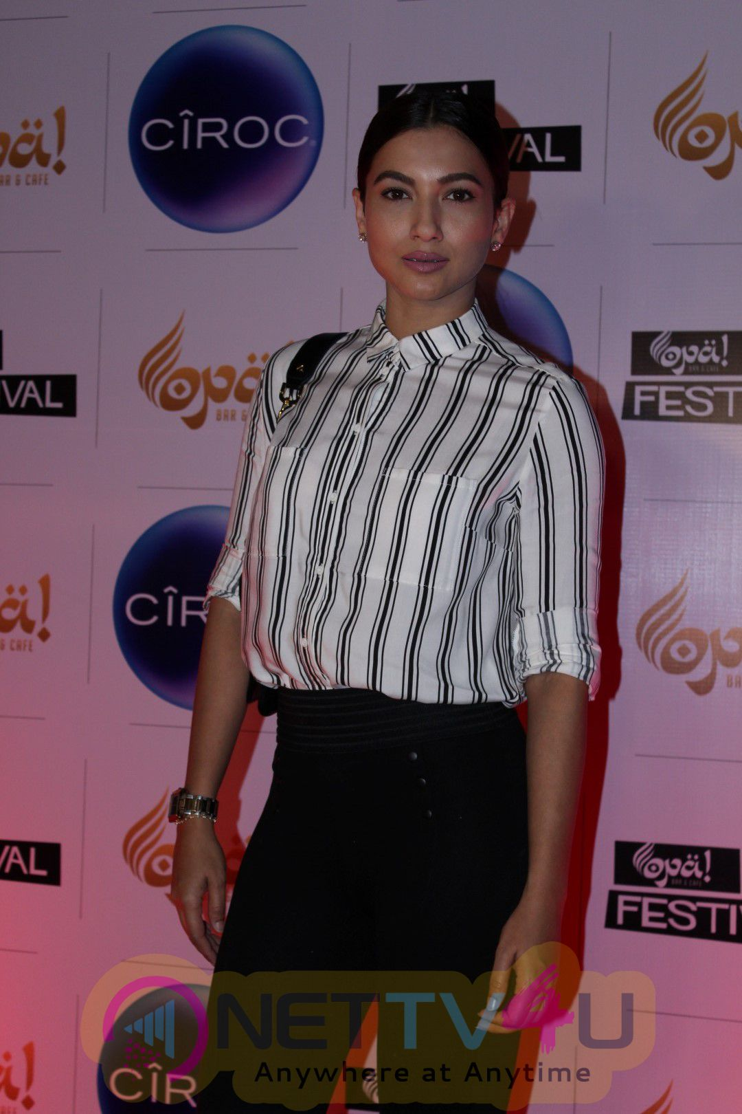 Gauhar Khan At 1st Anniversary With A Bottle & Models Night Hosted By Bigg Boss Fame Andy Stills