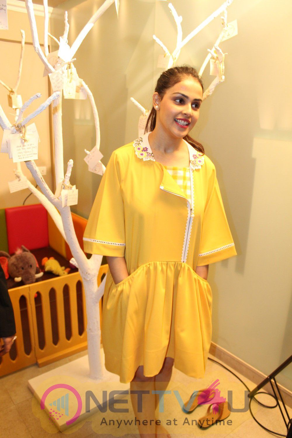 Genelia D'Souza At The Launch Of India's 1st & Only Baby & Mother Wellness Centre Stills Hindi Gallery