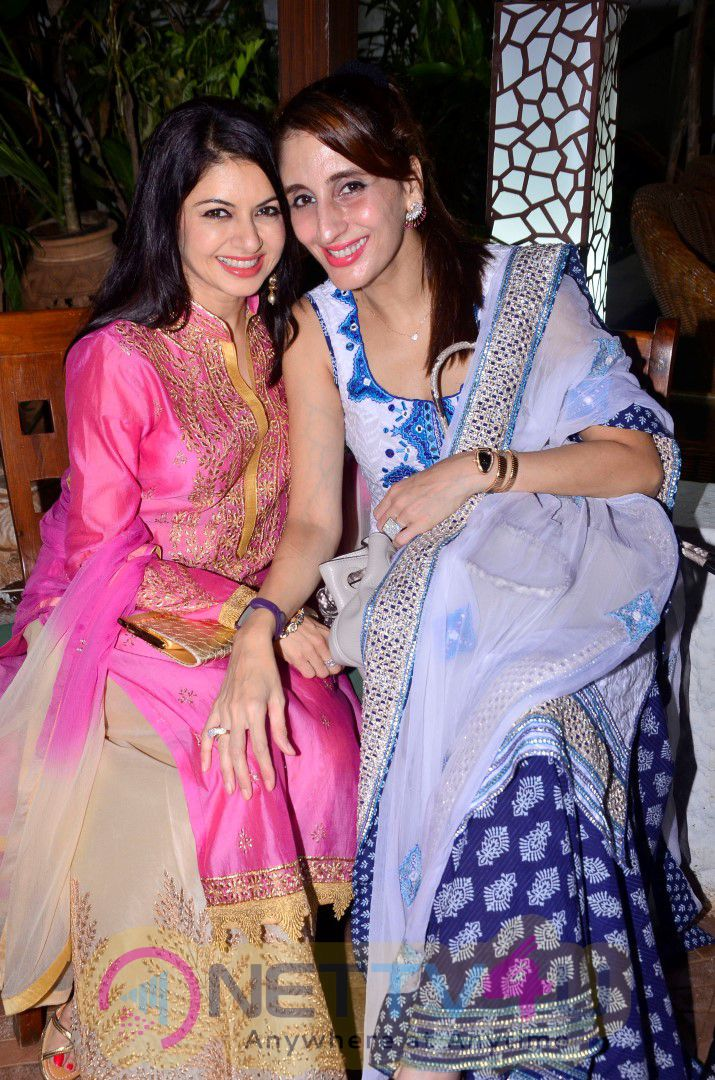 Glimpses Of The Glitzy Get-Together At Akbar Khans Residence Photos