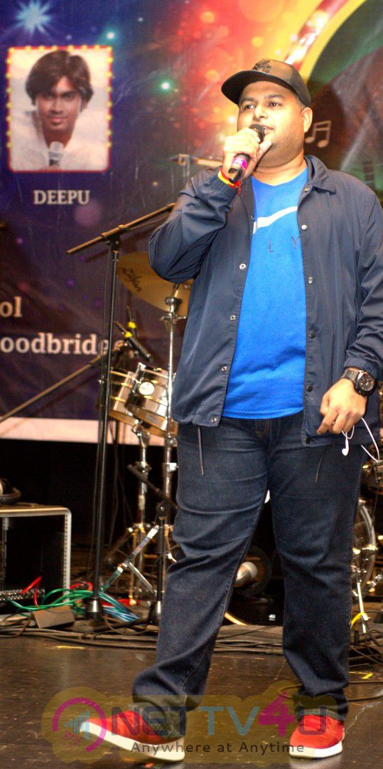 Grand Success Of  SS Thaman Live In Concert  By NJTA Dazzling Photos