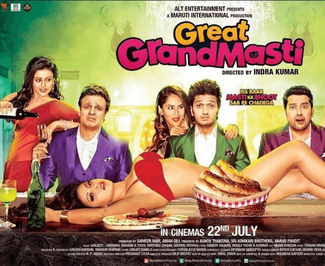 Great Grand Masti Movie Review