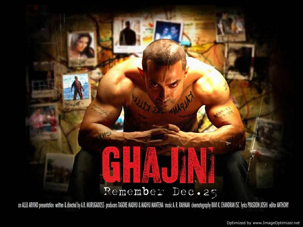 Ghajini Movie Review Hindi