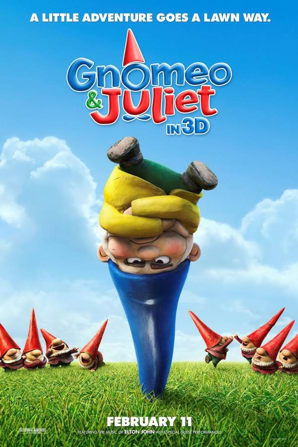 Gnomeo & Juliet Movie Review English