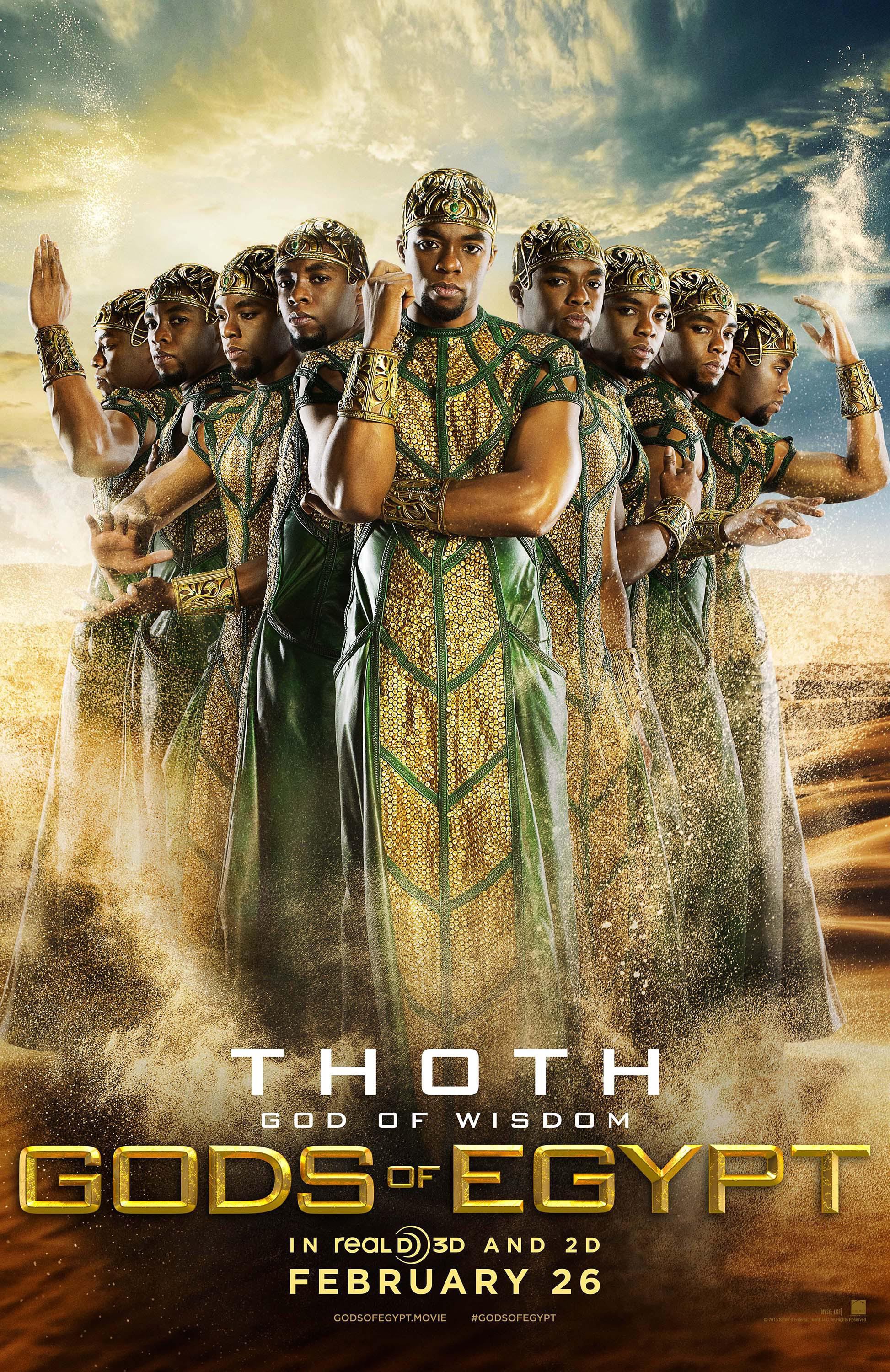 Gods of Egypt Movie Review English